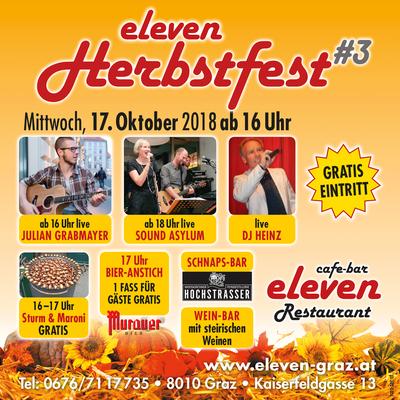 ELEVEN-Herbstfest 2018