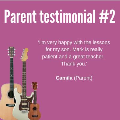 Parent testimonial #2
