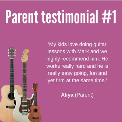 Parent testimonial #1