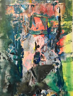 Ohne Titel. 2019, 36 x 48 cm, 315 Euro