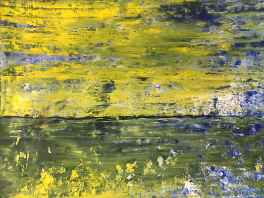 Abstract Landscape. 2017, 50 x 70 cm, 450 Euro