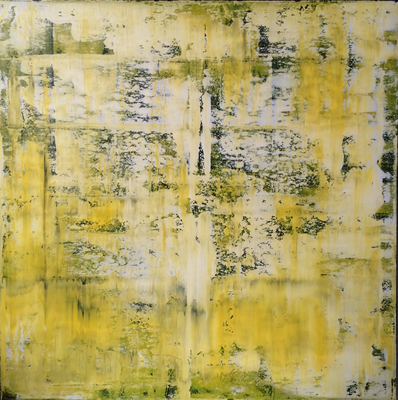Lemon one. 90 x 90 cm. 2016.