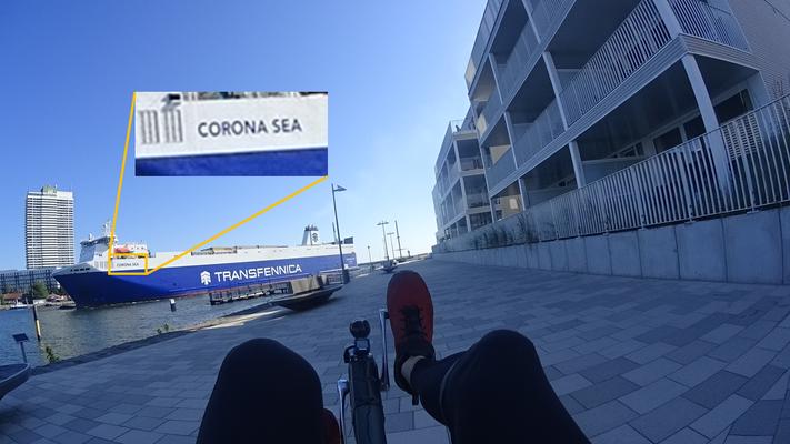 Corona kann man nicht entkommen