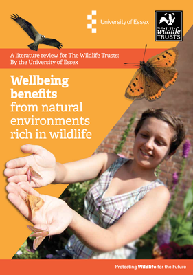 Wellbeing benefits from natural environments rich in wildlife