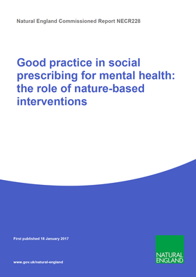 Good practice in social prescribing for mental health