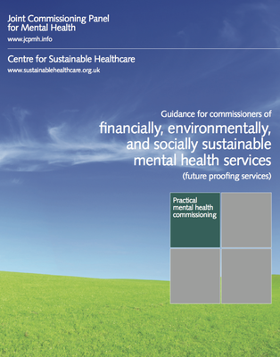 Guidance for financial, environmental, and social sustainability in mental health services