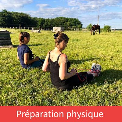 Préparation physique du cavalier