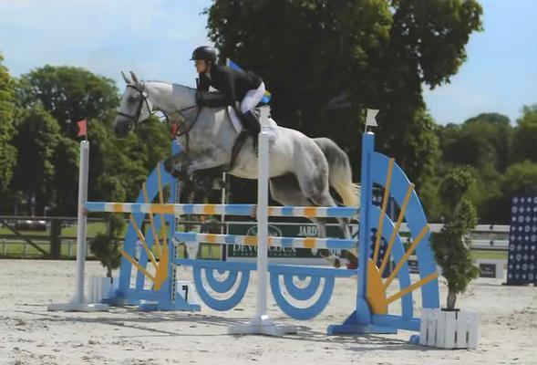 Concours hippique, valorisation du cheval de CCE avec Fanny Lelièvre, écurie les Rouillons, 89 Sens