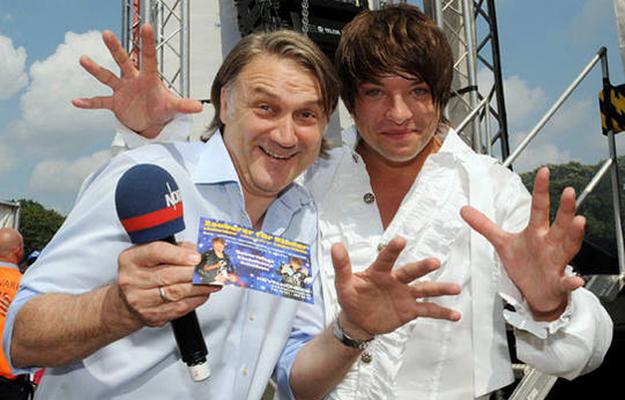 Kevin und Dietmar Beiersdorfer ( HSV  Chef )