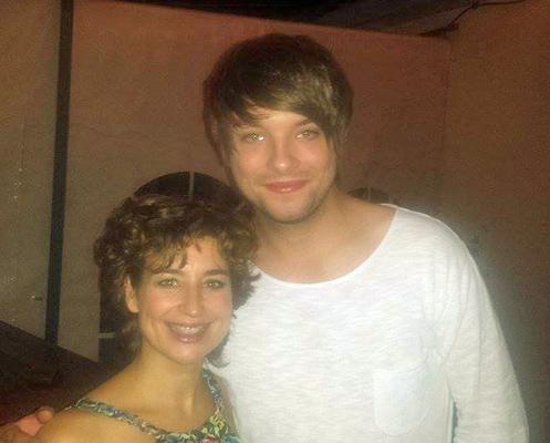 Kevin und Isabel Varell ( Deutsche Sängerin, Schauspielerin, Musicaldarstellerin und Fernsehmoderatorin )