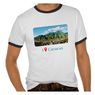 Camiseta I Was in Caracas, Venezuela