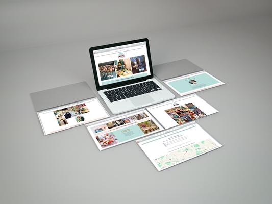 Webseite - Konzeption und ReDesign unter Verwendung von  CMS   Süße Flora - Tortenatelier