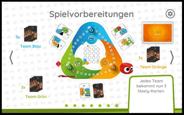 Interaction: Schritt für Schritt Anleitung zur Spielvorbereitung - 7