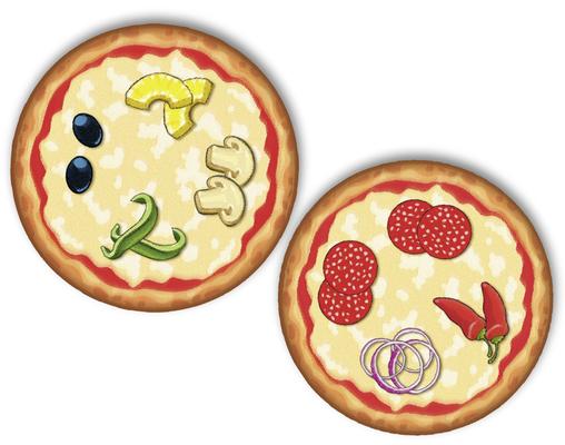 Pizza Monsters - Beispiel für eine Ausgangssitaution