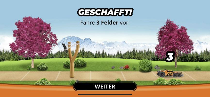 Crazy Driver - Minispiel Schleuder