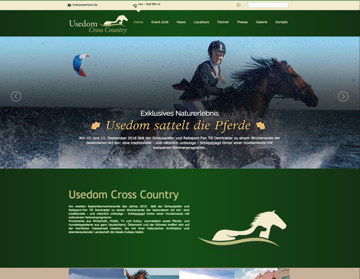 Webseite Usedom Crosscountry