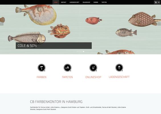 Onlineshop CB Farbenkontor Hamburg