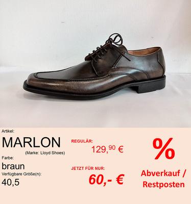 Marke: LLOYD // Modell: MARLON // Farbe: BRAUN // Größe: 40,5