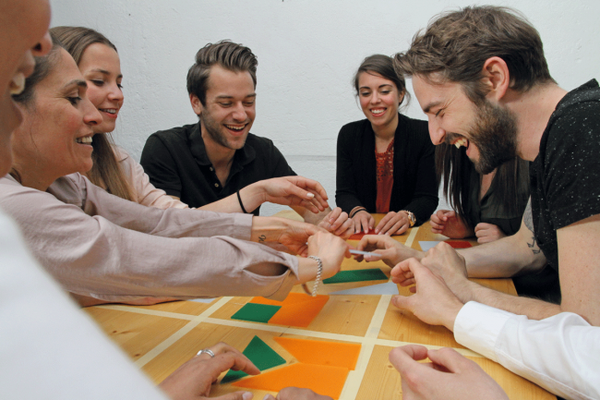 Teamquadrat, Teamentwicklung, Selbstorganisation, Projektmanagement, Lernkomplize