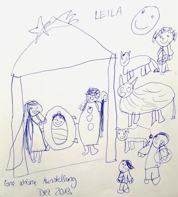 Leilas Eindrücke von der Adventsausstellung 2013