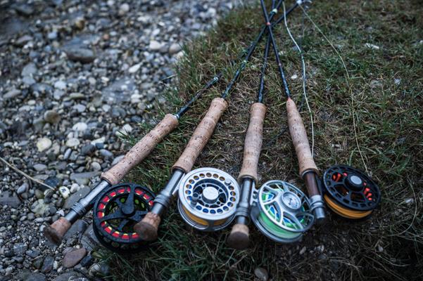 Geworfen wurde mit unterschiedlichsten Schnüren - Danica Dudes Flyfishing Blog