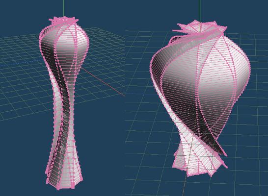 3D折紙CADのシミュレーション