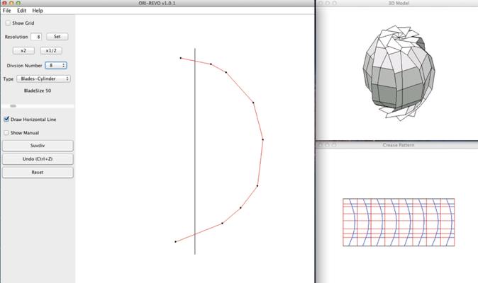 3D折紙CAD
