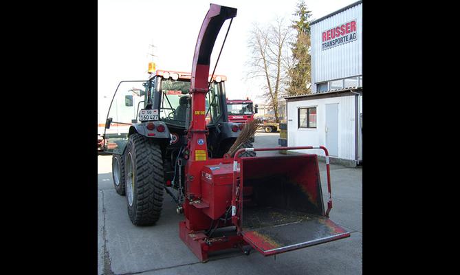 Häckseldienst - Reusser Transporte AG Biberist
