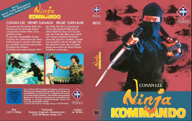 Conan Lee Movie Ninja Kommando
