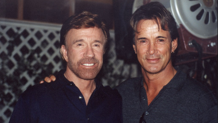 Richard Norton & Chuck Norris