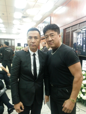 Conan Lee mit Ip Man-Star Donnie Yen
