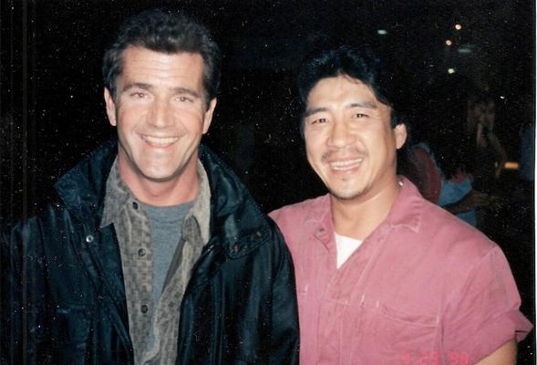 Conan Lee mit Mel Gibson