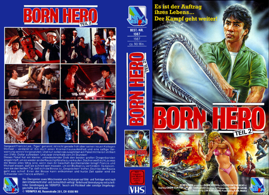 Movie Born Hero 2 mit Conan Lee  und Chow Yun Fat