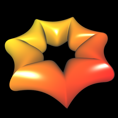 Supershape auf Basis Torus - 1