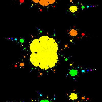 Basins of Attraction exp(z)-1=0 Basto-Verfahren, Zoom