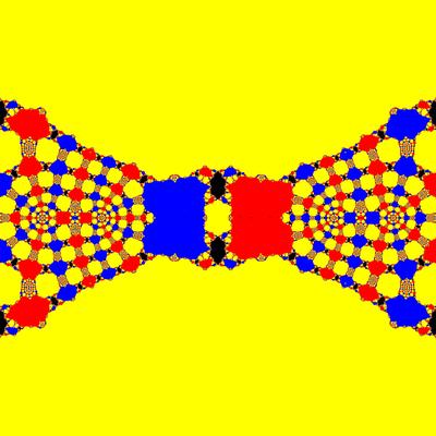 Basins of Attraction z^3-z=0, King-Verfahren, beta=-1