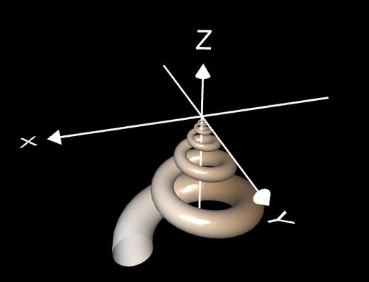 Spiralfläche ansteigend - 2