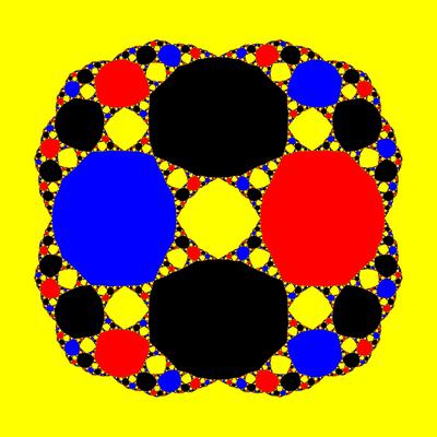 Basins of Attraction z^3-z=0, Schröder-Verfahren, B=[-3, 3]×[-3, 3]