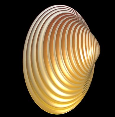 3D Trogmuschel