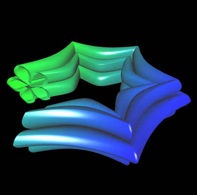 Supershape auf Basis Torus - 3