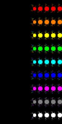 Basins of Attraction exp(z)-1=0 Euler-Chebychev-Verfahren