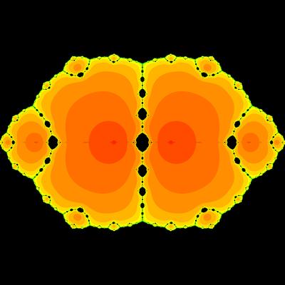 Konvergenzgeschwindigkeit z^2-1=0, King-Verfahren, beta=-2
