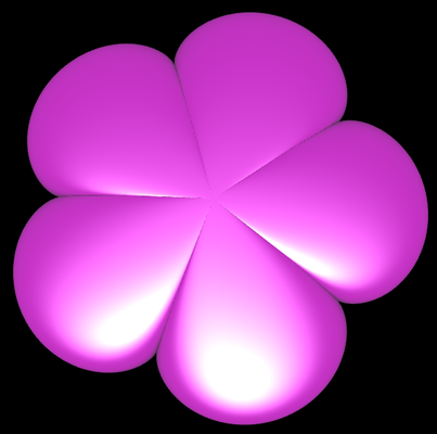 Supershape: Blume 5