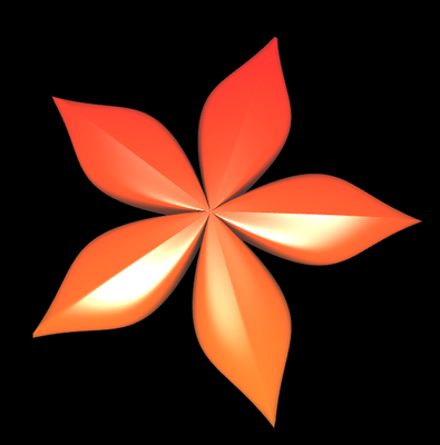 Supershape: Blume 1