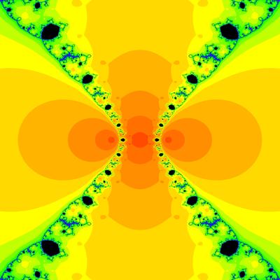 Konvergenzgeschwindigkeit z^3-z=0, Chun-Kim III -Verfahren