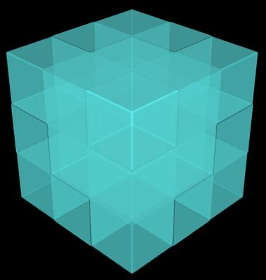 3D Raster mittels sin(x)sin(y)sin(z) = 0