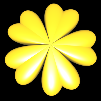 Supershape: Blume 3