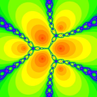 Konvergenzgeschwindigkeit z^3-1=0, Schröder-Verfahren