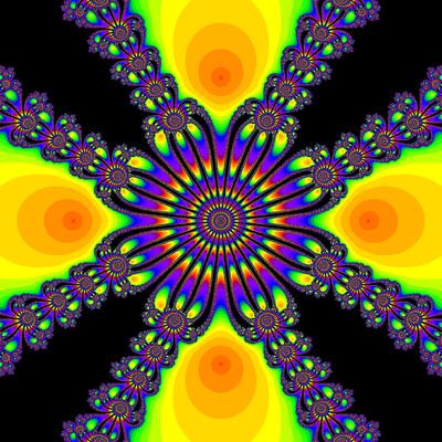 Konvergenzgeschwindigkeit z^4-1=0, Whittaker I -Verfahren