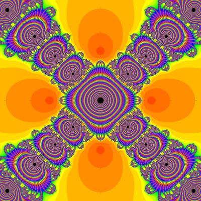 Konvergenzgeschwindigkeit z^4-1=0, Kung-Traub-Verfahren